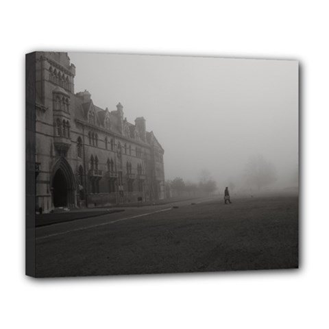 Christ Church College, Oxford 11  X 14  Framed Canvas Print by artposters