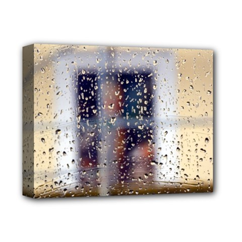 Rainy Day Deluxe Canvas 14  X 11  (stretched) by artposters