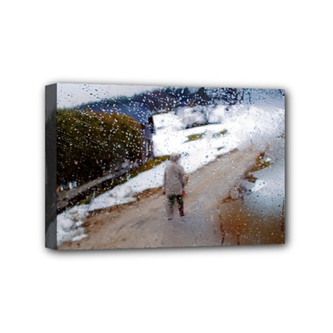 Rainy Day, Austria 4  X 6  Framed Canvas Print by artposters