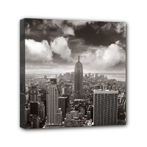 New York, Usa 6  X 6  Framed Canvas Print by artposters