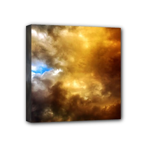 Cloudscape 4  X 4  Framed Canvas Print by artposters