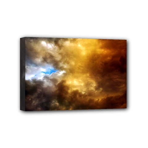 Cloudscape 4  X 6  Framed Canvas Print by artposters