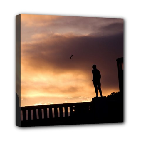Vigeland Park, Oslo 8  X 8  Framed Canvas Print by artposters