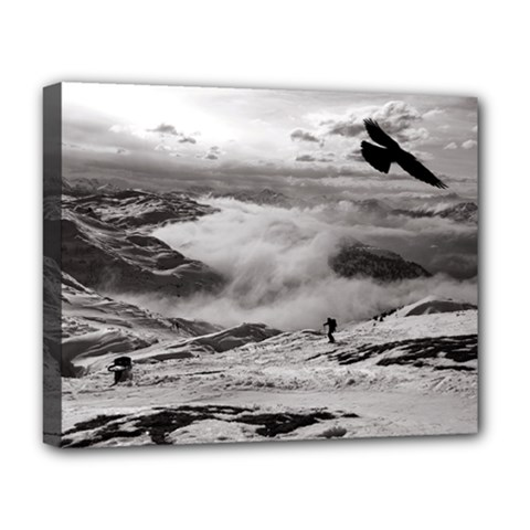 Untersberg Mountain, Austria Deluxe Canvas 20  X 16  (stretched) by artposters