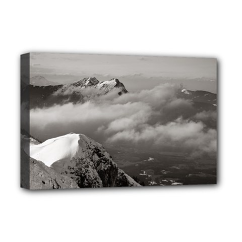 Untersberg Mountain, Austria Deluxe Canvas 18  X 12  (stretched)