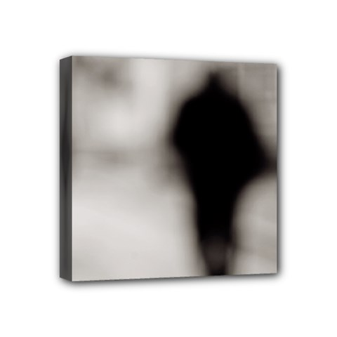 People Fading Away 4  X 4  Framed Canvas Print by artposters