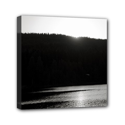 Waterscape, Oslo 6  X 6  Framed Canvas Print