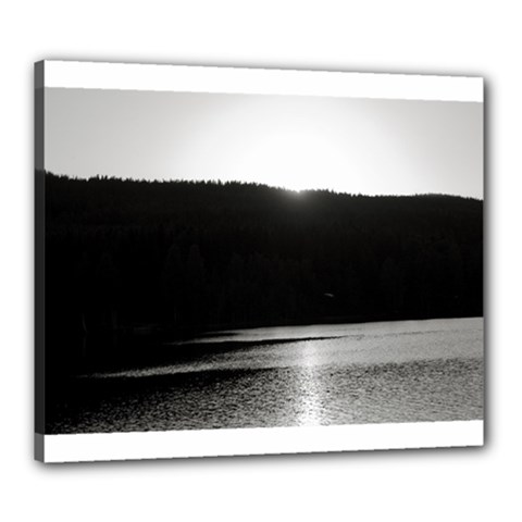 Waterscape, Oslo 20  X 24  Framed Canvas Print by artposters