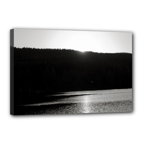 Waterscape, Oslo 12  X 18  Framed Canvas Print by artposters
