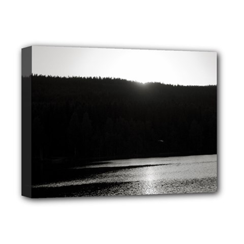 Waterscape, Oslo Deluxe Canvas 16  X 12  (stretched)  by artposters