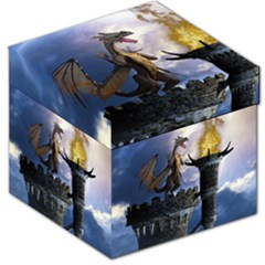 Dragon Land 2 Storage Stool 12  by gatterwe