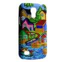 Three Boats & A Fish Table Samsung Galaxy S4 Mini Hardshell Case  View2