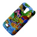 Three Boats & A Fish Table Samsung Galaxy S4 Mini Hardshell Case  View4