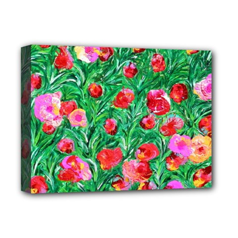 Flower Dreams Deluxe Canvas 16  X 12  (framed)
