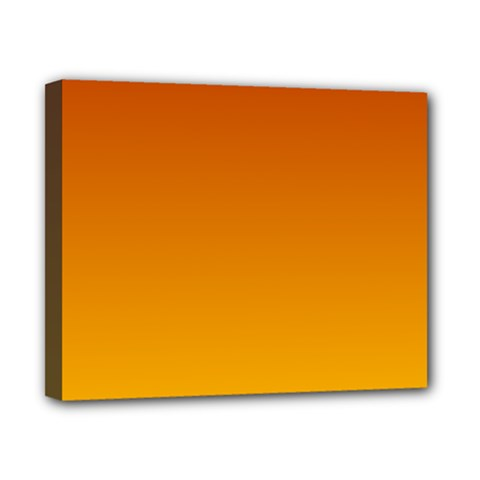 Mahogany To Amber Gradient Canvas 10  X 8  (framed) by BestCustomGiftsForYou