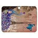 Modern Butterfly  Floral Paris Eiffel Tower Decor Samsung Galaxy Tab 3 (10.1 ) P5200 Hardshell Case  View1