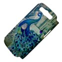 French Scripts Vintage Peacock Floral Paris Decor Samsung Galaxy S III Hardshell Case (PC+Silicone) View4