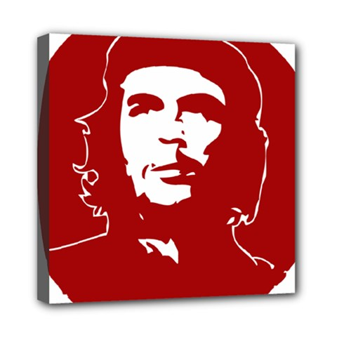 Chce Guevara, Che Chick Mini Canvas 8  X 8  (framed) by youshidesign
