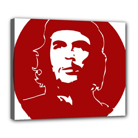 Chce Guevara, Che Chick Deluxe Canvas 24  X 20  (framed) by youshidesign