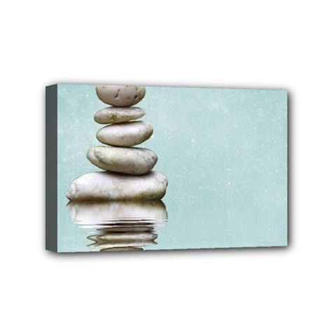 Balance Mini Canvas 6  X 4  (framed)