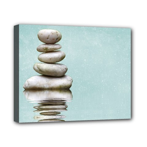Balance Canvas 10  X 8  (framed) by Siebenhuehner