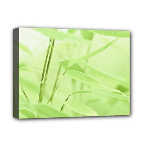 Bamboo Deluxe Canvas 16  X 12  (framed)  by Siebenhuehner