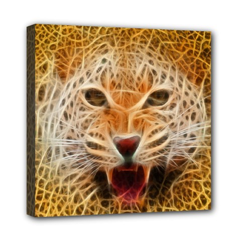Jaguar Electricfied Mini Canvas 8  X 8  (framed)