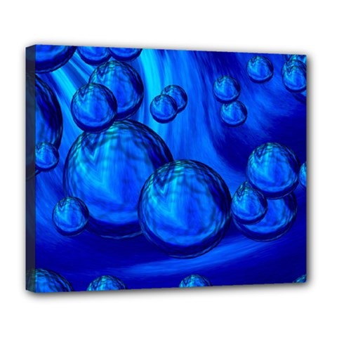 Magic Balls Deluxe Canvas 24  X 20  (framed) by Siebenhuehner