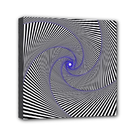 Hypnotisiert Mini Canvas 6  X 6  (framed) by Siebenhuehner