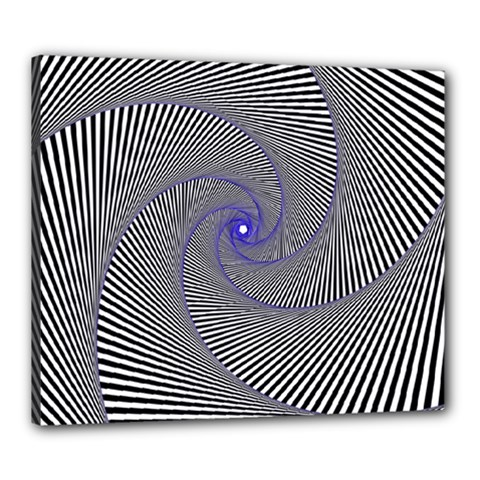 Hypnotisiert Canvas 24  X 20  (framed)