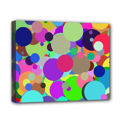 Balls Canvas 10  X 8  (framed) by Siebenhuehner