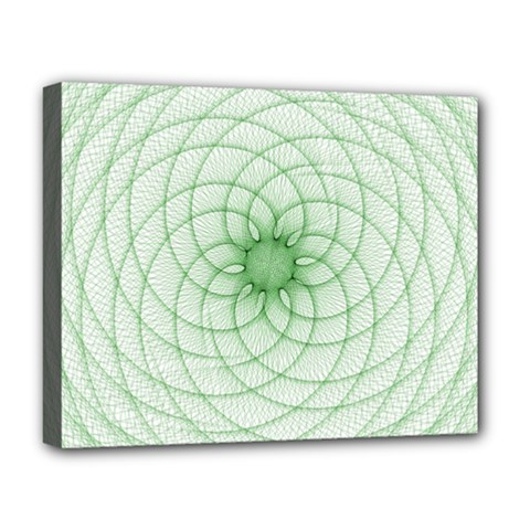 Spirograph Deluxe Canvas 20  X 16  (framed)
