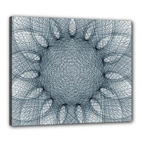 Mandala Canvas 24  X 20  (framed) by Siebenhuehner