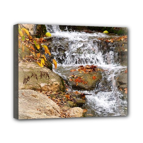 Waterfall Canvas 10  X 8  (framed) by uniquedesignsbycassie