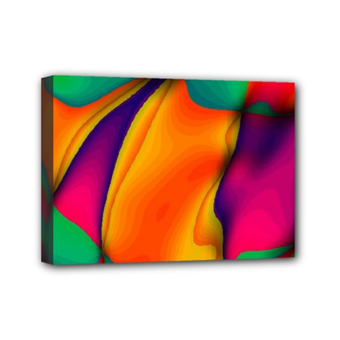 Crazy Effects  Mini Canvas 7  X 5  (framed) by ImpressiveMoments