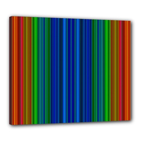 Strips Canvas 24  X 20  (framed) by Siebenhuehner