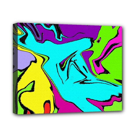 Abstract Canvas 10  X 8  (framed) by Siebenhuehner