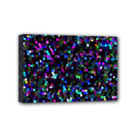 Glitter 1 Mini Canvas 6  X 4  (framed) by MedusArt