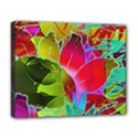 Floral Abstract 1 Deluxe Canvas 20  x 16  (Framed) View1
