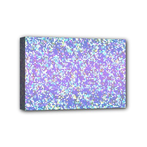 Glitter2 Mini Canvas 6  X 4  (framed) by MedusArt
