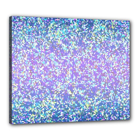 Glitter2 Canvas 24  X 20  (framed)