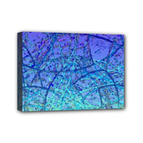 Grunge Art Abstract G57 Mini Canvas 7  X 5  (stretched) by MedusArt