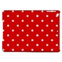 White Stars On Red Apple iPad Air Hardshell Case View1