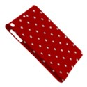 White Stars On Red Apple iPad Air Hardshell Case View5