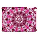 Twirling Pink, Abstract Candy Lace Jewels Mandala  Apple iPad Mini Hardshell Case View1