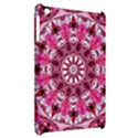 Twirling Pink, Abstract Candy Lace Jewels Mandala  Apple iPad Mini Hardshell Case View2