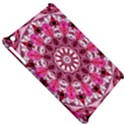 Twirling Pink, Abstract Candy Lace Jewels Mandala  Apple iPad Mini Hardshell Case View5