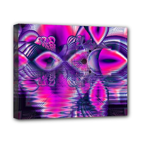 Rose Crystal Palace, Abstract Love Dream  Canvas 10  X 8  (framed) by DianeClancy