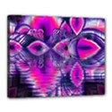 Rose Crystal Palace, Abstract Love Dream  Canvas 20  x 16  (Framed) View1