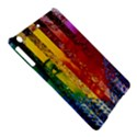 Conundrum I, Abstract Rainbow Woman Goddess  Apple iPad Air Hardshell Case View5